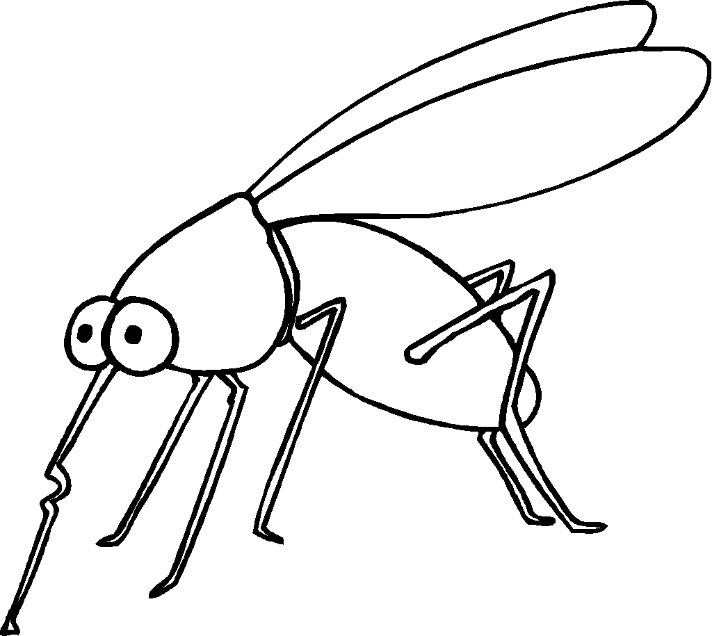 mosquito coloring page free printable mosquito coloring pages for kids animal mosquito coloring page