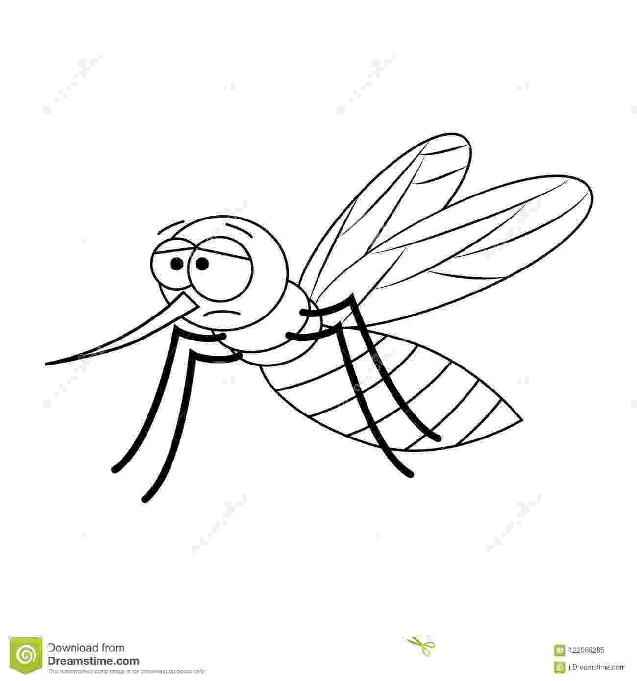 mosquito coloring page free printable mosquito coloring pages for kids mosquito coloring page