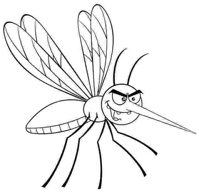 mosquito coloring page mosquito coloring page animals town animals color page coloring mosquito