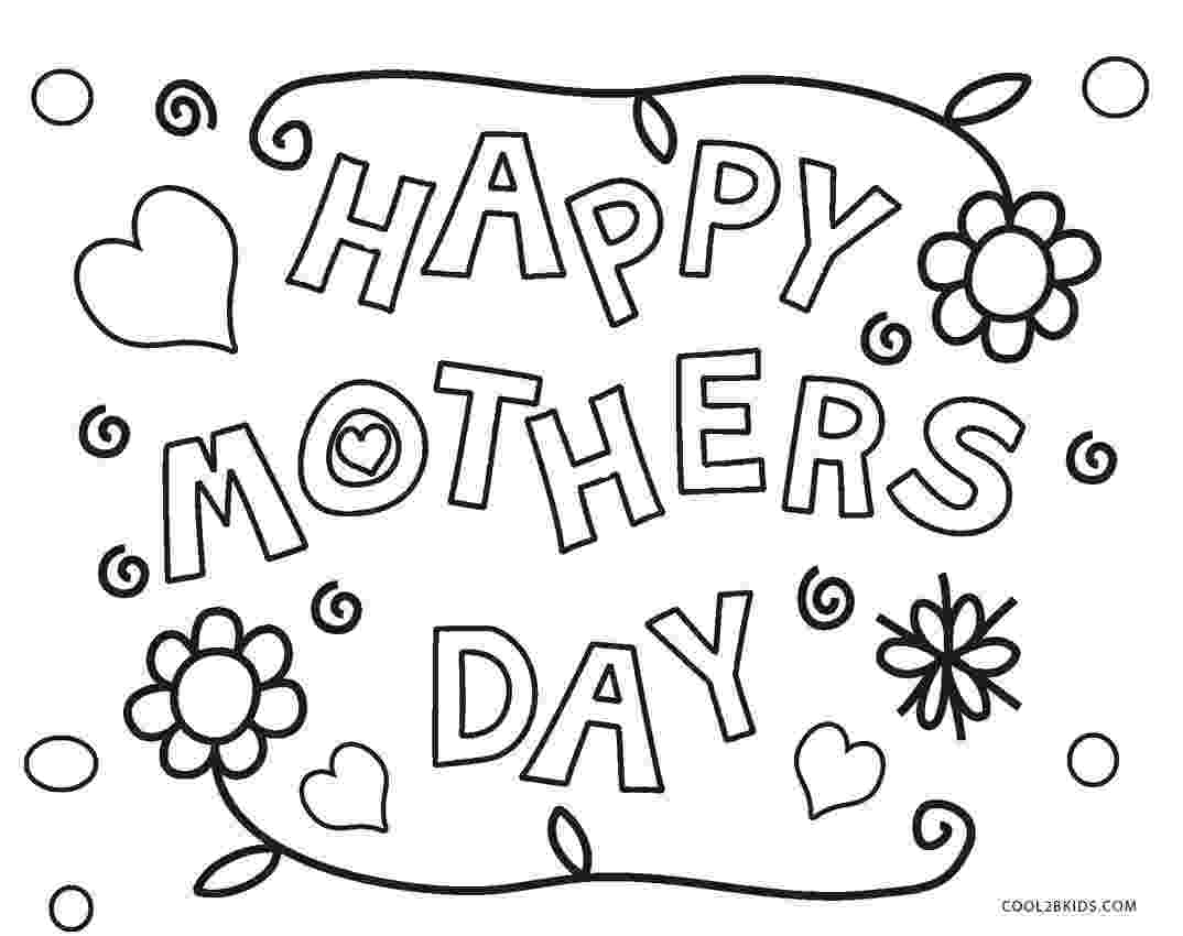 mothers day coloring pages free printable mothers day coloring pages for kids mothers day coloring pages