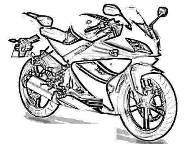 motorbike colouring coloring pages motorcycle coloring pages free and printable motorbike colouring 1 2