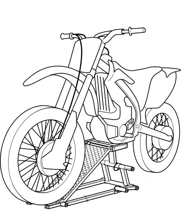 motorbike colouring cross motorbike free printable coloring page colouring motorbike