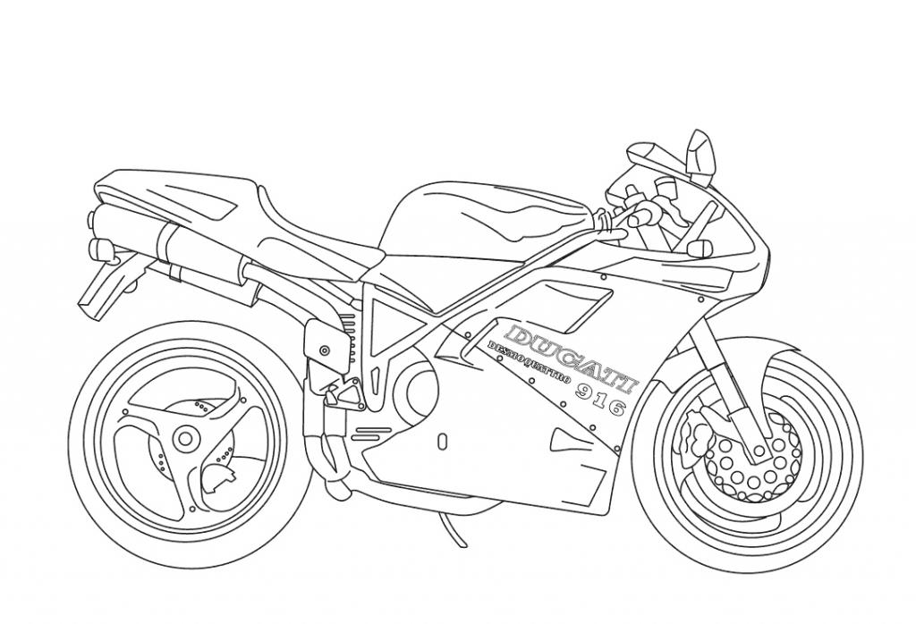 motorbike colouring free printable motorcycle coloring pages for kids motorbike colouring