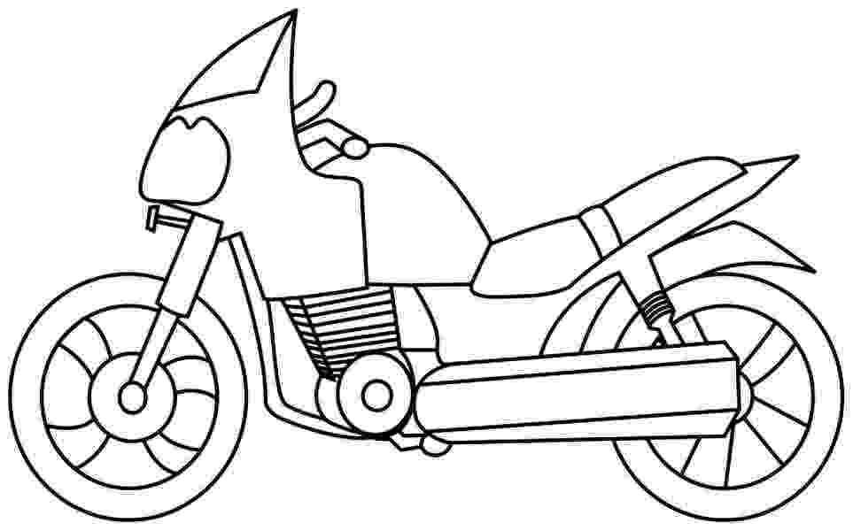 motorbike colouring los dibujos para colorear dibujos de motocicletas para colouring motorbike