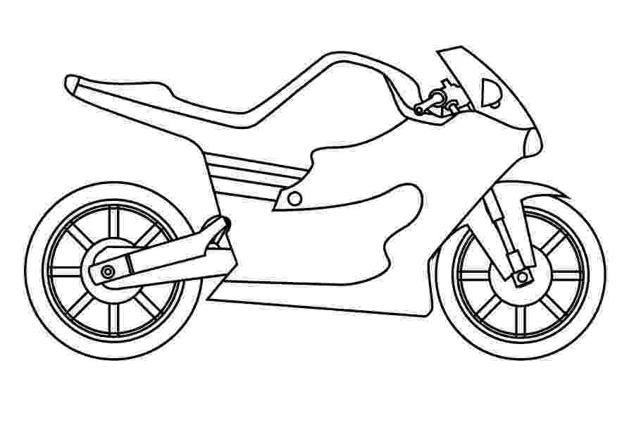 motorbike colouring printable motorcycle coloring pages for preschoolers motorbike colouring