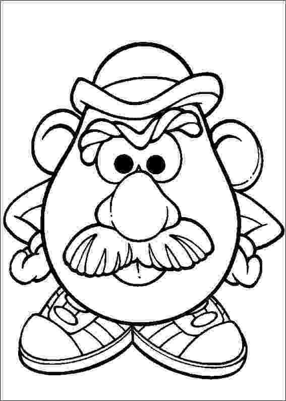 mr potato head coloring page kids n funcom 57 coloring pages of mr potato head coloring head mr page potato