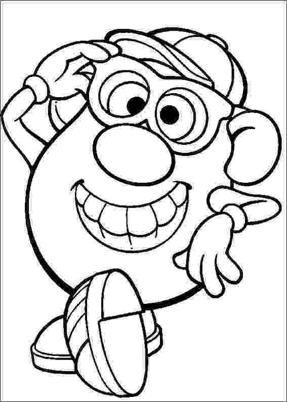 mr potato head coloring page kids n funcom 57 coloring pages of mr potato head head potato mr coloring page