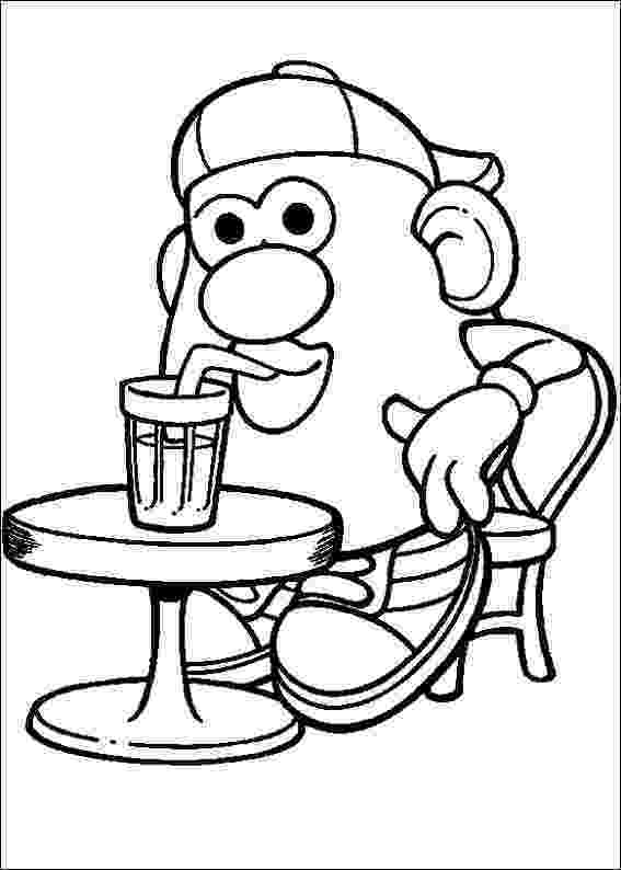 mr potato head coloring page kids n funcom 57 coloring pages of mr potato head mr potato coloring head page