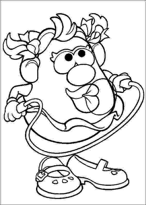 mr potato head coloring page kids n funcom 57 coloring pages of mr potato head page potato head mr coloring