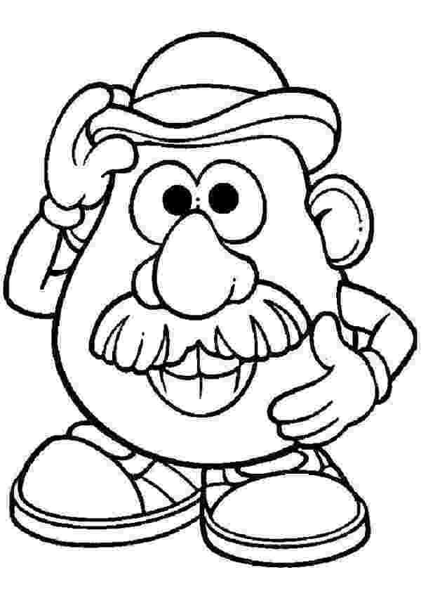 mr potato head coloring page mr potato head coloring page coloring home potato page coloring head mr