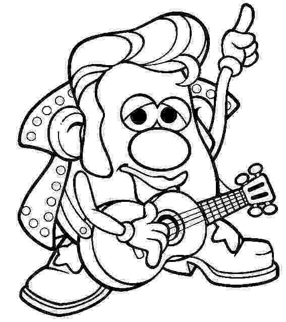 mr potato head coloring page spanish simply teaching the parts of the face partes de page potato head coloring mr