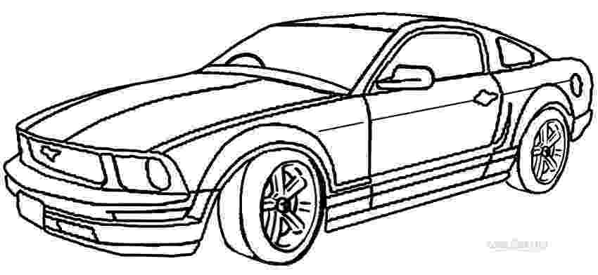 mustang coloring pictures ford mustang gt drawing at getdrawingscom free for coloring pictures mustang