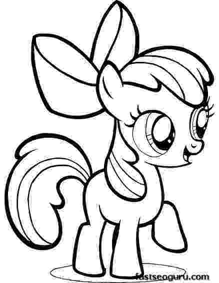 my little pony apple bloom coloring pages my little pony apple bloom coloring pages pony apple pages little my coloring bloom