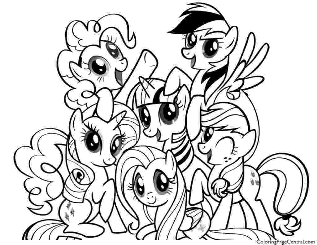my little pony coloring pages friendship is magic my little pony coloring pages friendship is magic team little coloring pony friendship is magic my pages