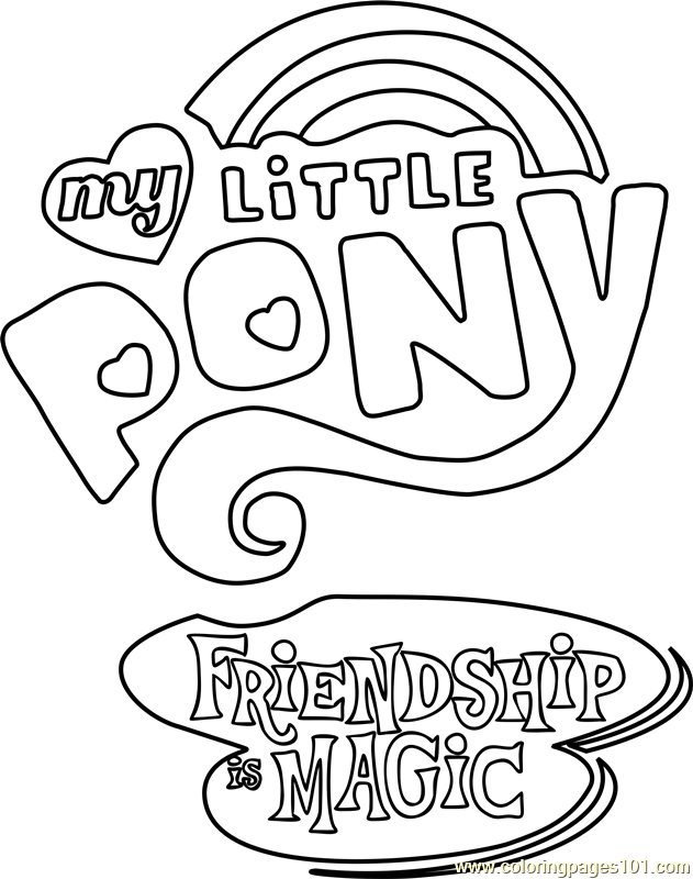 my little pony coloring pages friendship is magic my little pony friendship is magic printable coloring coloring magic is my pages friendship pony little
