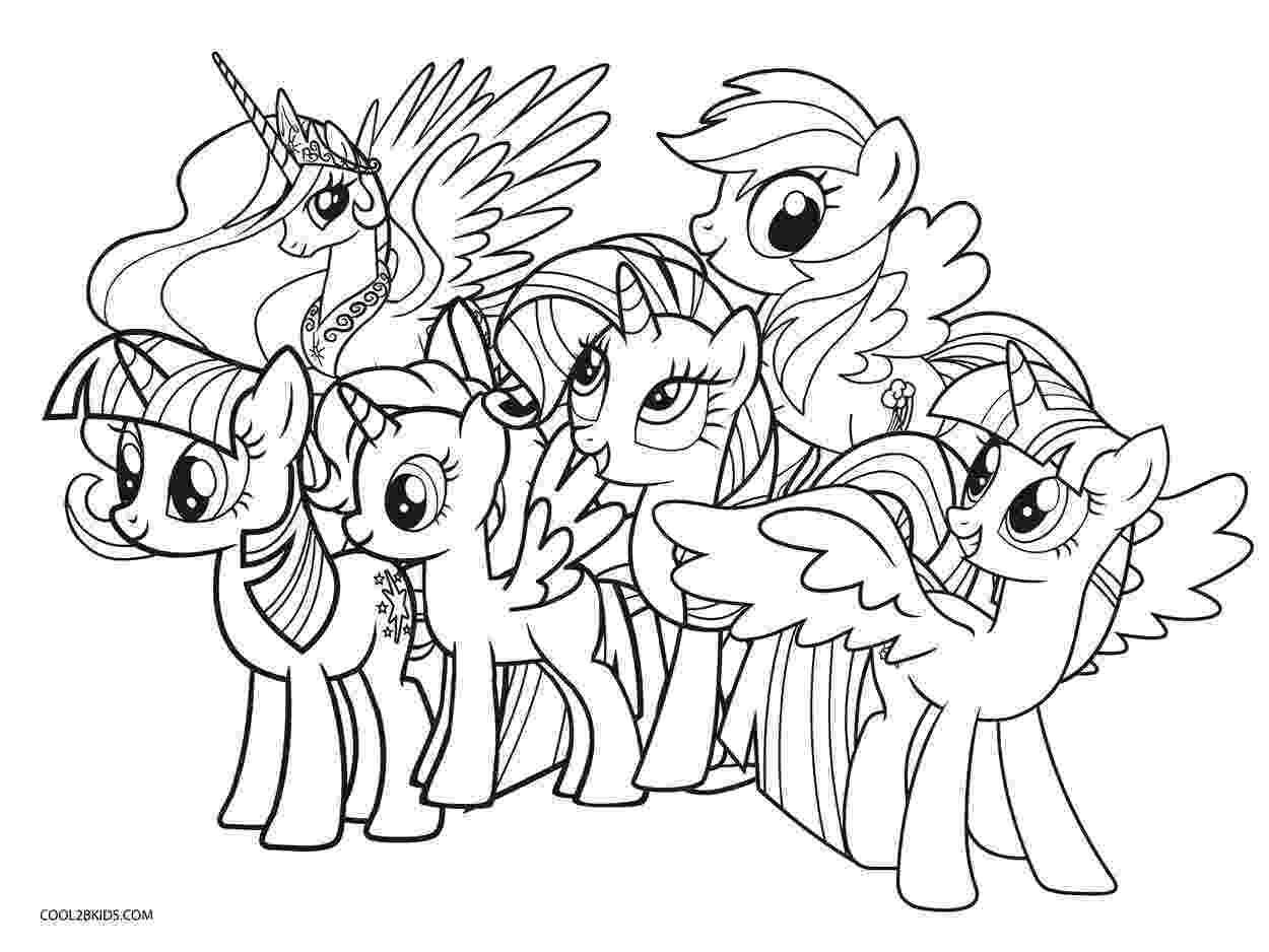 my little pony free printables my little pony coloring pages print and colorcom free pony little printables my