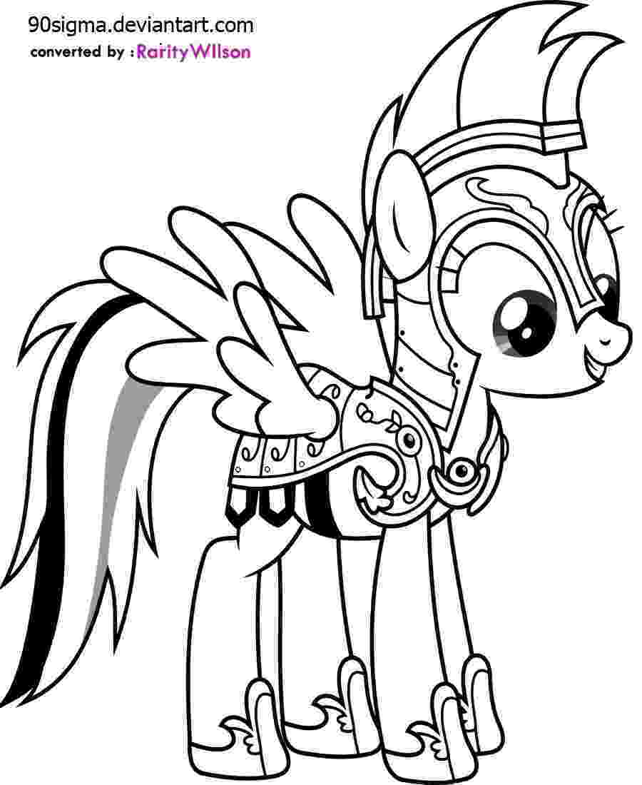 my little pony free printables rainbow dash coloring pages team colors free my printables little pony