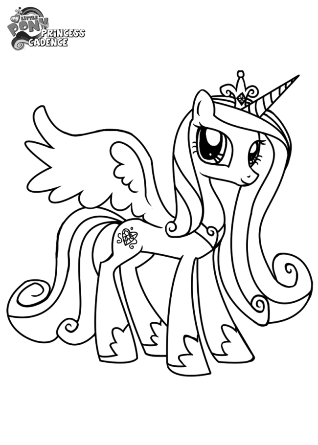 my little pony princess cadence coloring page my little phony giealvan page cadence little pony princess coloring my