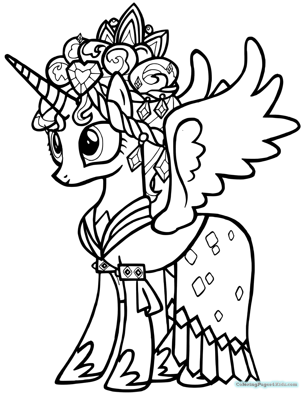 my little pony princess cadence coloring page my little pony princess cadence coloring pages cadence page princess little my pony coloring