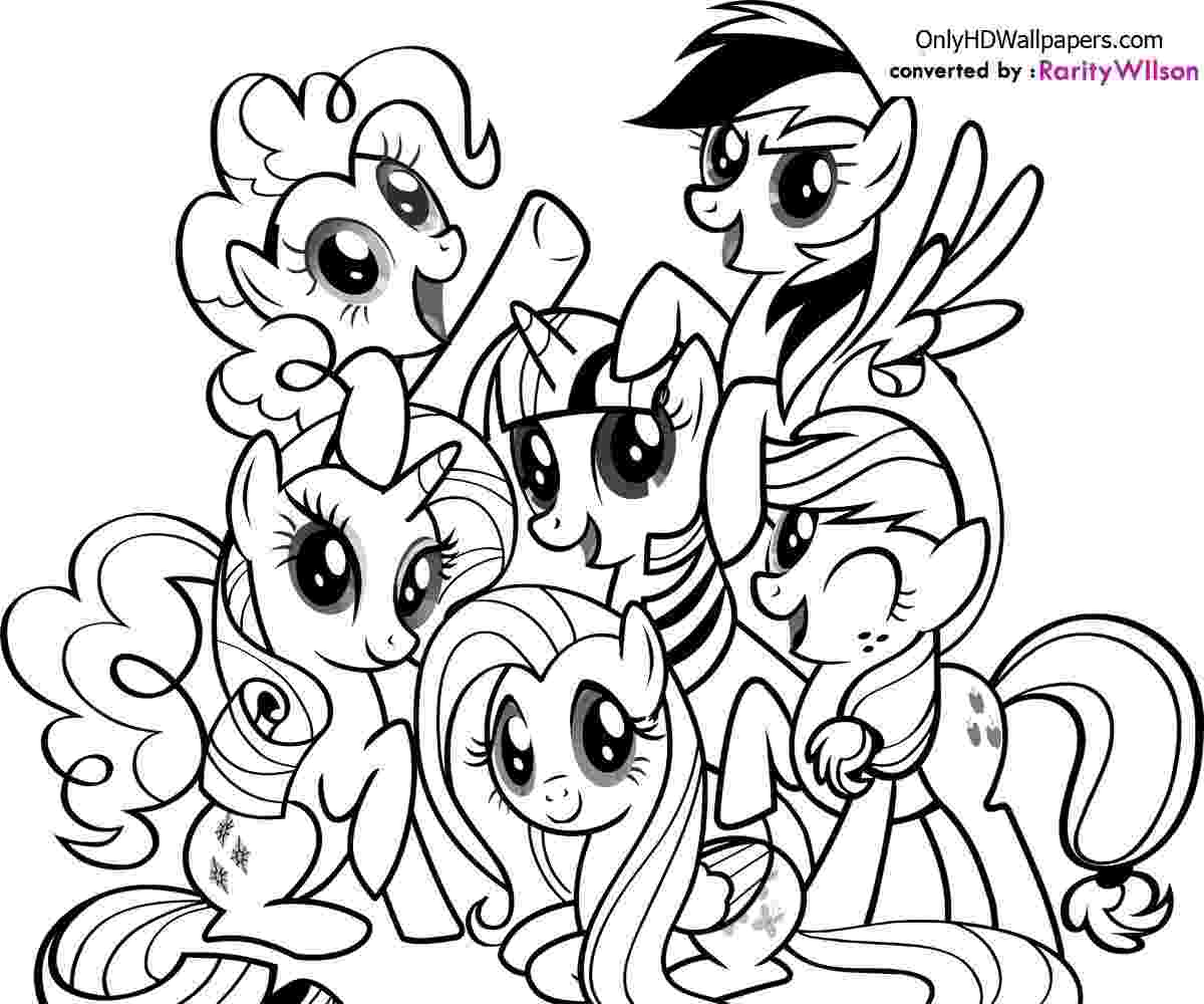 my little pony printable coloring pages my little pony coloring pages team colors coloring pages my printable pony little