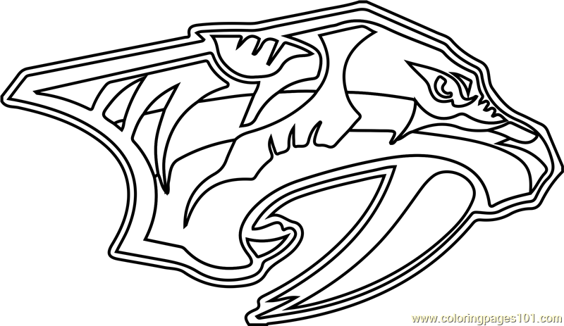 nashville predators coloring pages predator and prey coloring pages coloring pages pages coloring predators nashville