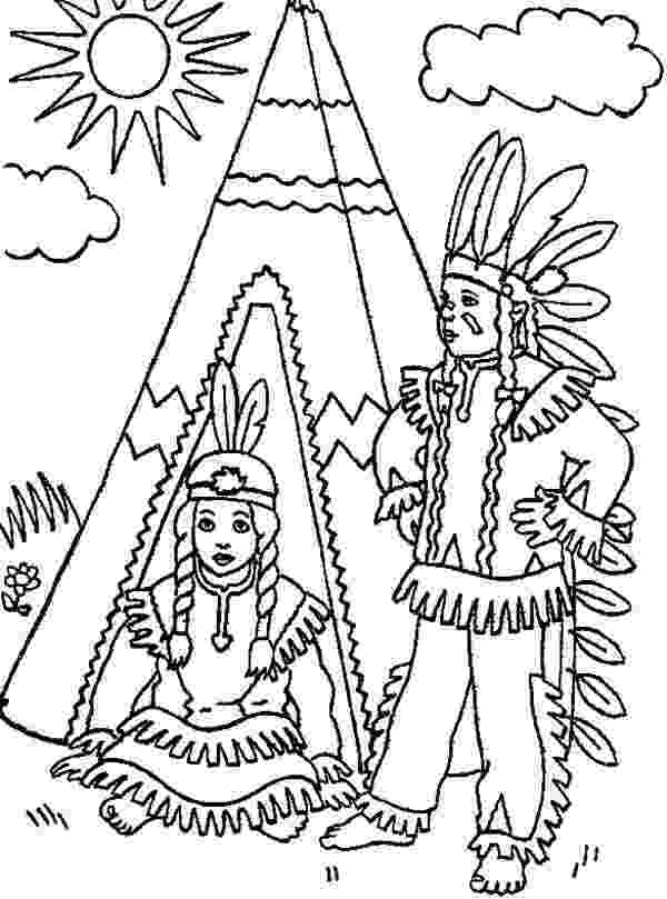native american indian coloring pages indian coloring pages coloringpages1001com native american indian pages coloring
