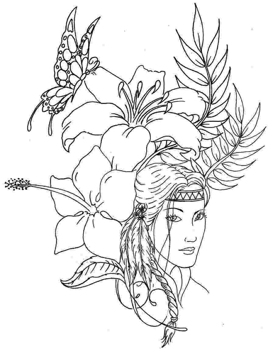 native american indian coloring pages indian coloring pages free download best indian coloring pages native american coloring indian