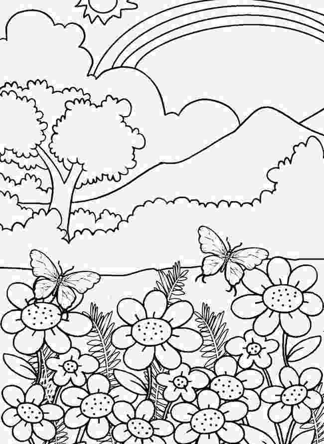 nature coloring pages for adults best adult coloring pages to print featuring country adults coloring nature pages for