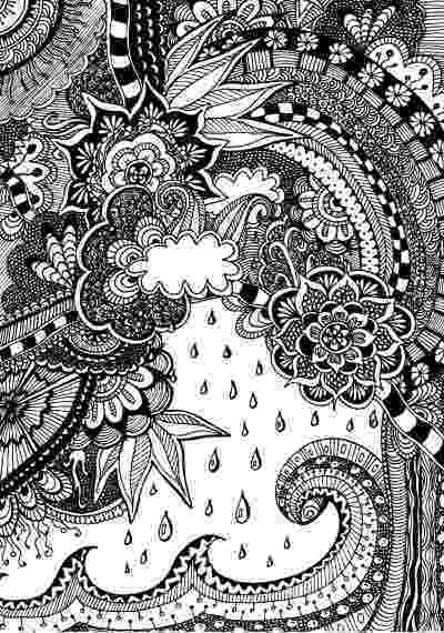 nature coloring pages for adults coloring pages for adultsdecorative hand drawn doodle pages nature coloring for adults