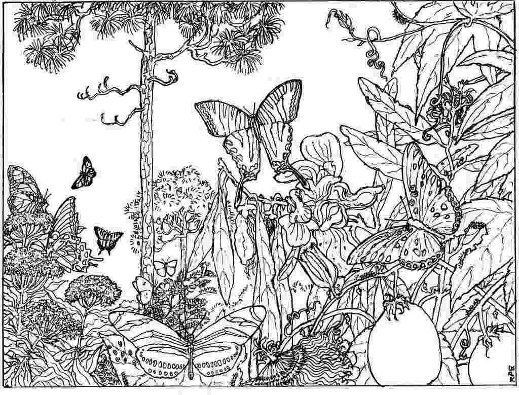 nature coloring pages for adults nature coloring pages to download and print for free for adults pages nature coloring