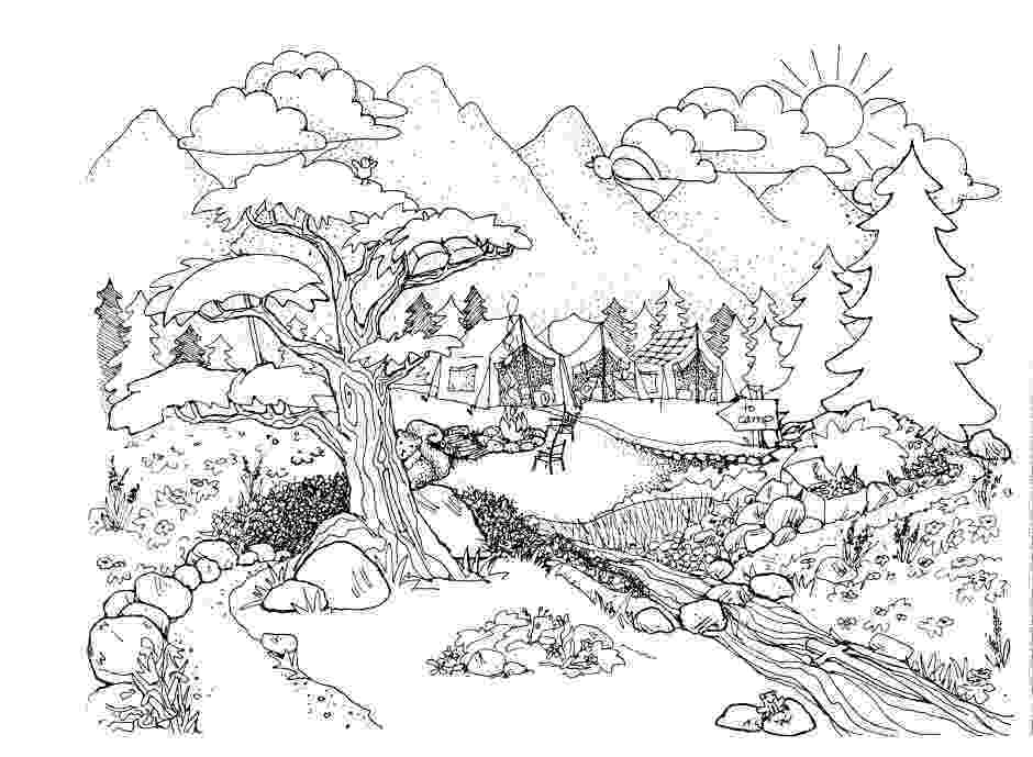 nature coloring pages for adults seabed coloring pages to download and print for free nature for adults pages coloring