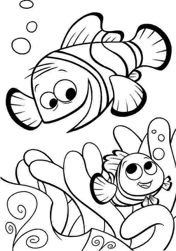nemo coloring sheet finding nemo coloring pages disneyclipscom sheet coloring nemo