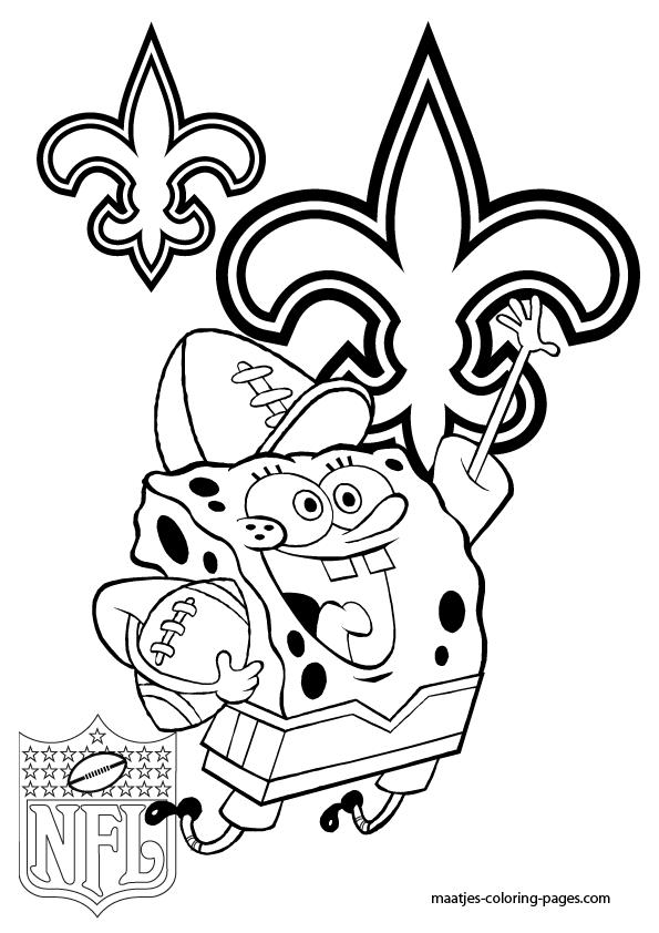 new orleans saints coloring pages new orleans saints coloring page coloring home new pages saints coloring orleans