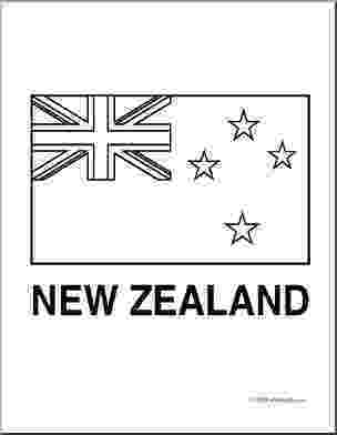 new zealand flag coloring page clip art flags new zealand coloring page i abcteach coloring flag new zealand page