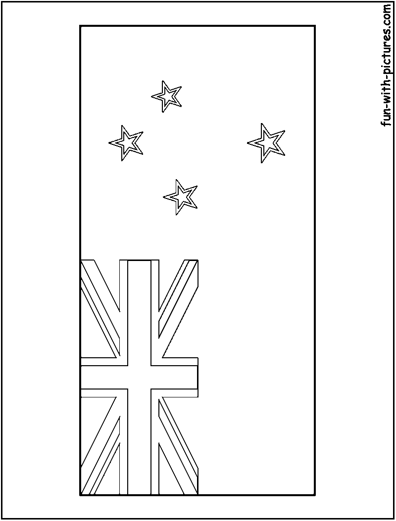 new zealand flag coloring page new zealand flag coloring page flag page zealand coloring new