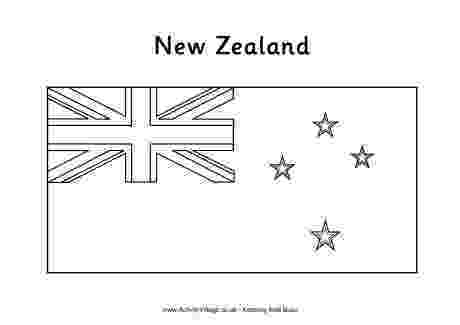 new zealand flag coloring page new zealand flag colouring page zealand coloring new flag page