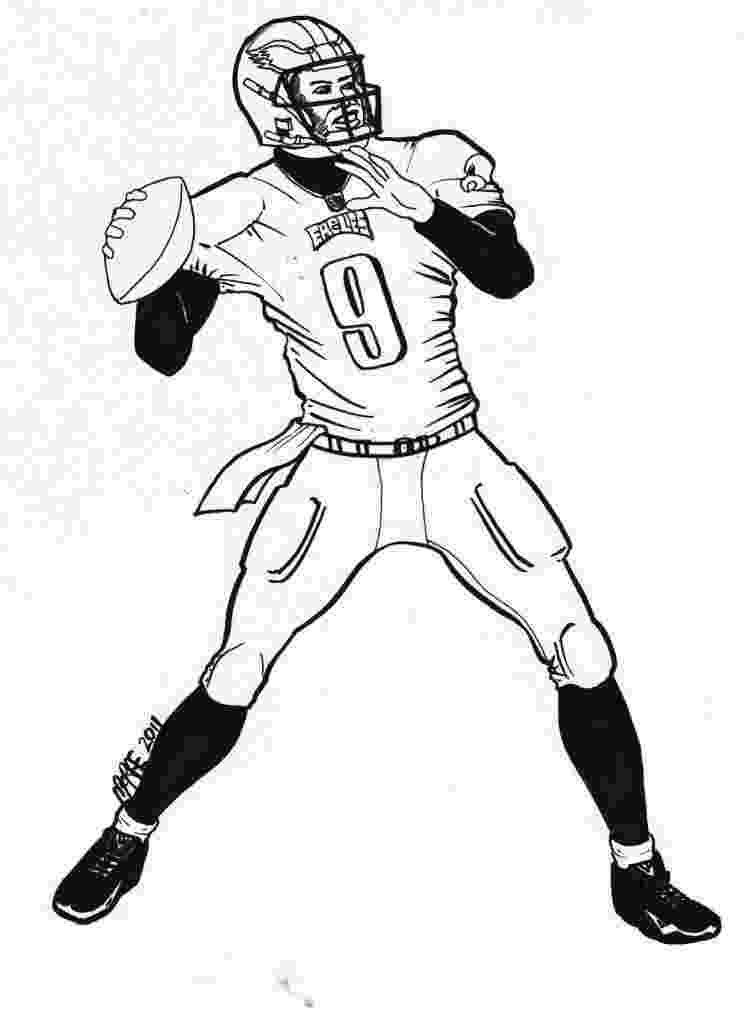 nfl football coloring pages american football player coloring pages by coloring pages nfl football