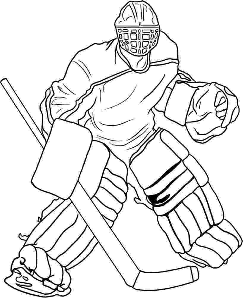 nhl hockey coloring pages goal the hockey coloring book dover publications sports coloring pages hockey nhl
