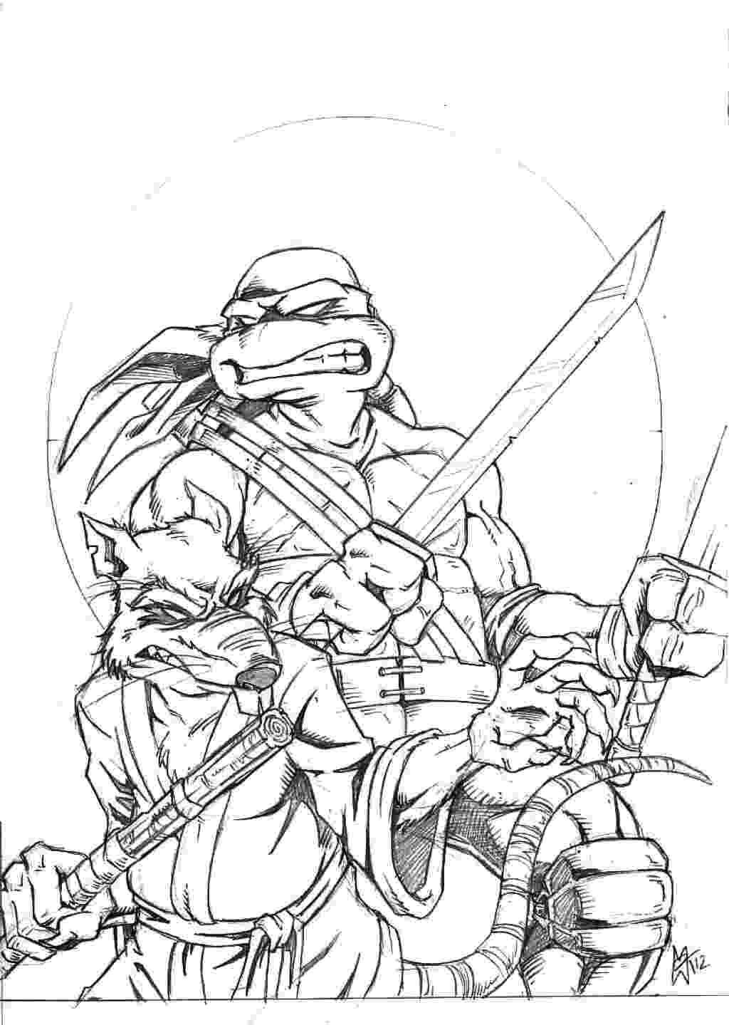 ninja turtle coloring page tmnt coloring pages getcoloringpagescom coloring turtle ninja page
