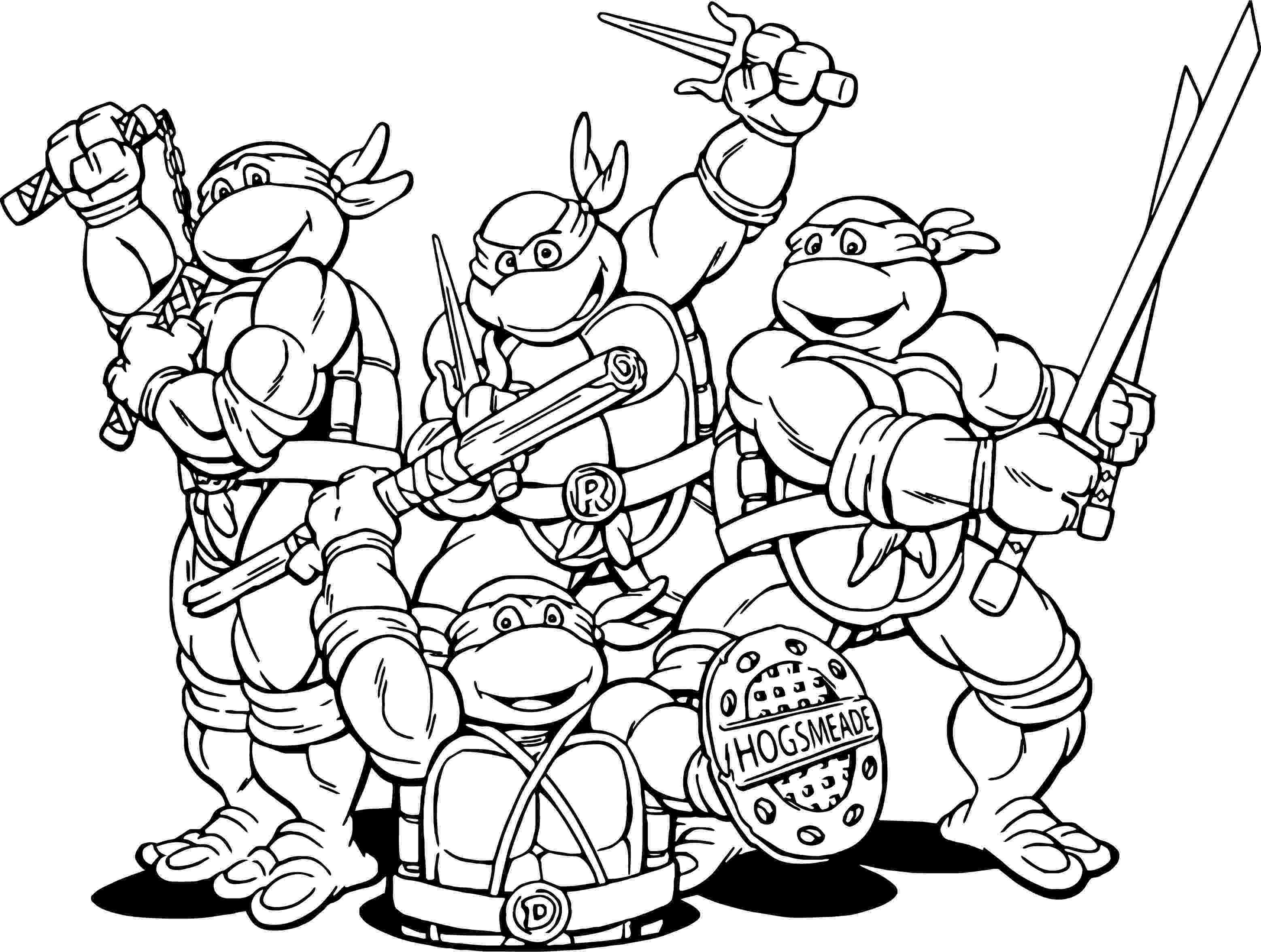 ninja turtle colouring page print download the attractive ninja coloring pages for page ninja turtle colouring