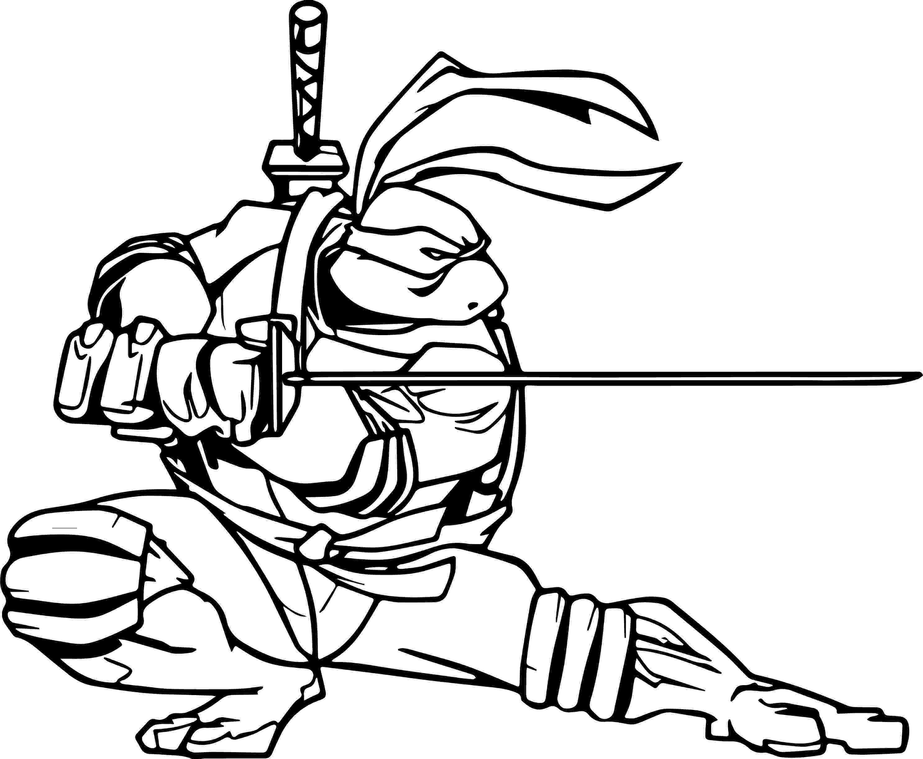 ninja turtles coloring pictures ready turtle for war ninja coloring page wecoloringpagecom coloring ninja pictures turtles
