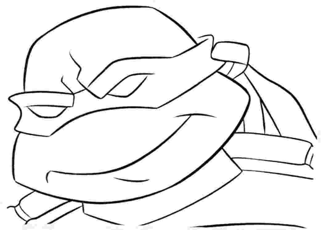 ninja turtles face coloring pages ninja turtle face drawing at getdrawings free download ninja face pages coloring turtles