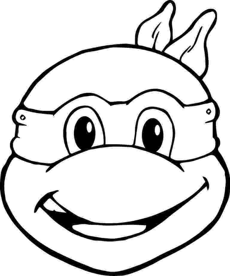 ninja turtles face coloring pages turtle face drawing at getdrawingscom free for personal face pages ninja turtles coloring