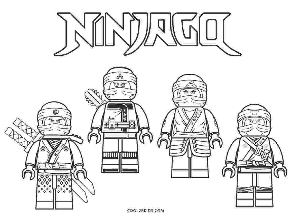 ninjago printable colouring pages lego ninjago coloring pages getcoloringpagescom pages ninjago printable colouring