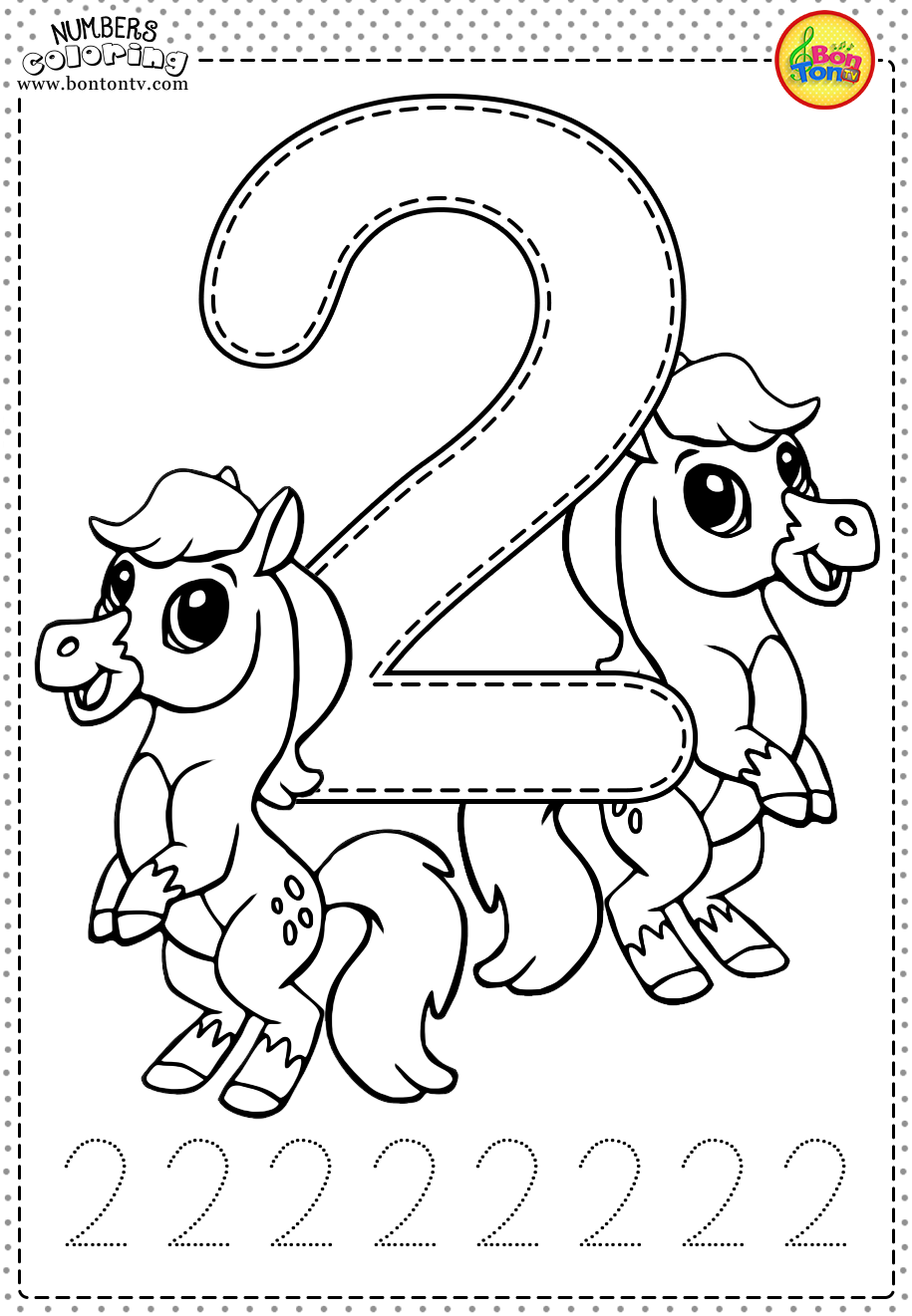 number 2 coloring pages for toddlers free coloring pages of numbers with fruits crafts and number pages coloring for toddlers 2