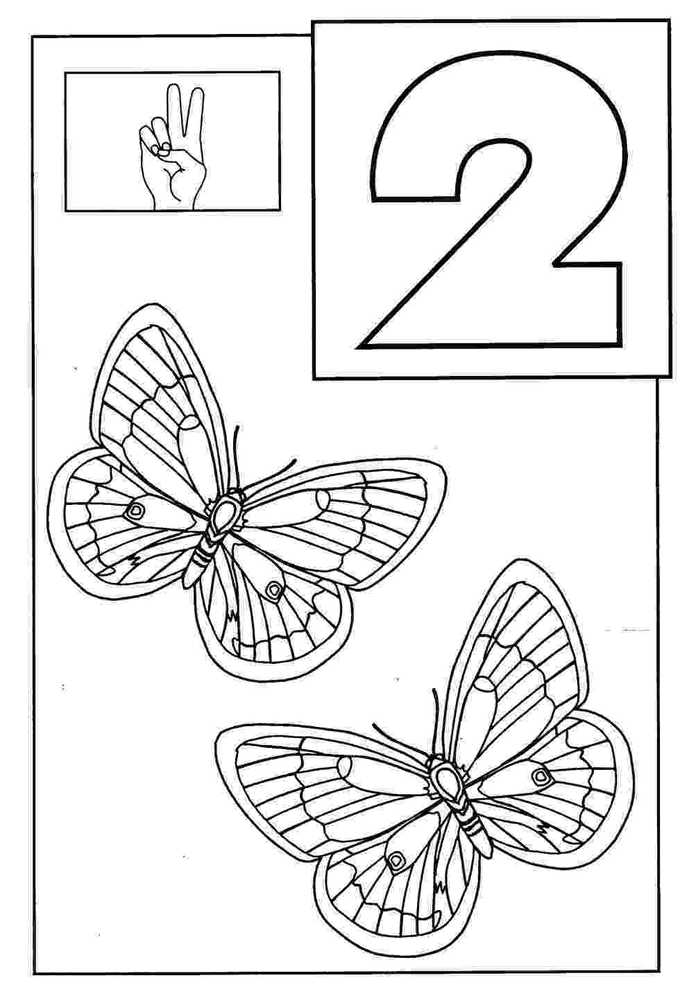 number 2 coloring pages for toddlers kindergarten worksheets coloring worksheets maths 1 10 pages toddlers 2 for number coloring