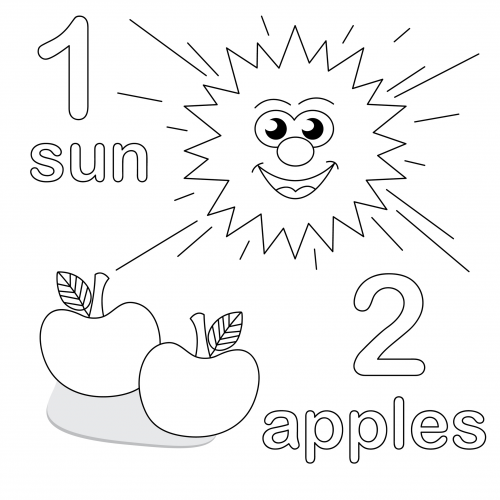 number 2 coloring pages for toddlers number two coloring page printable math coloring toddlers 2 pages number coloring for