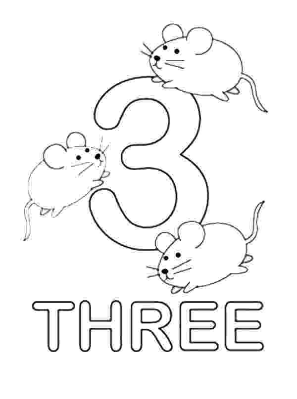 number 3 coloring page number 3 coloring page getcoloringpagescom number page coloring 3