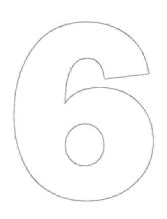 number 6 printable coloring page number 6 coloring page getcoloringpagescom printable coloring page number 6