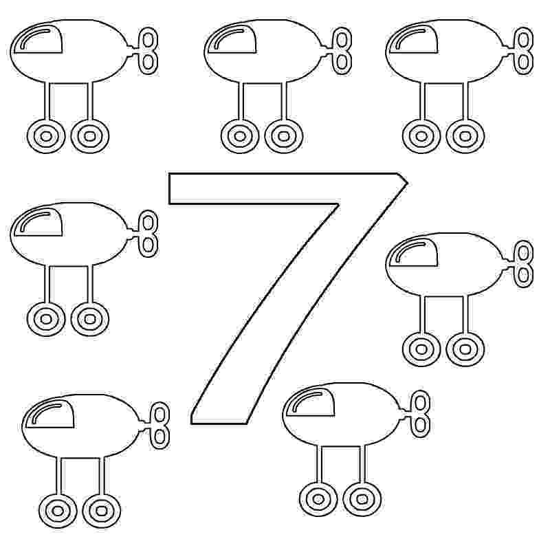 number 7 coloring sheet number seven coloring page a free math coloring printable coloring 7 number sheet